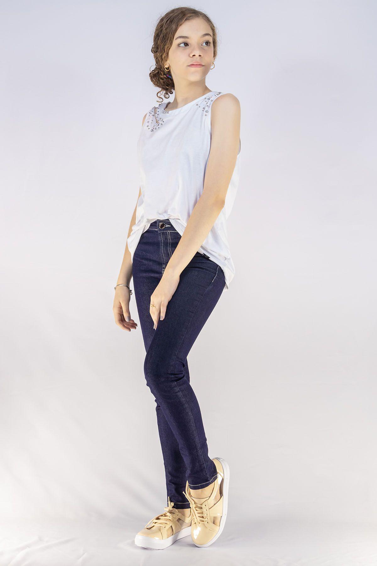 Calça Menina Dimy Candy Jeans Esc 81487
