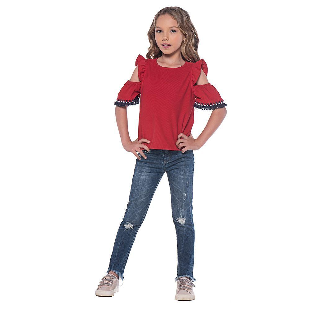 Calça Mania Kids Jeans Médio 60771