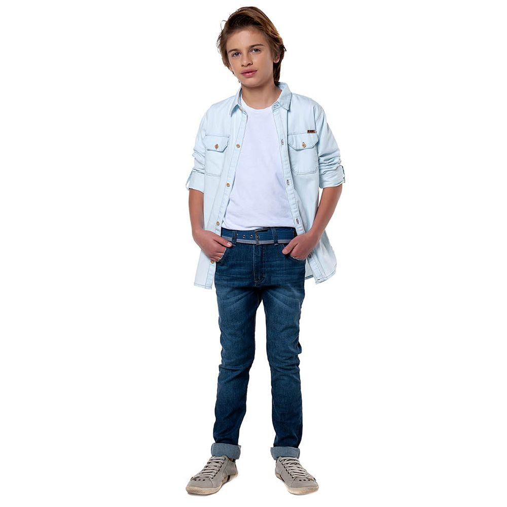 Calça Menino Mania Kids Jeans 90528G