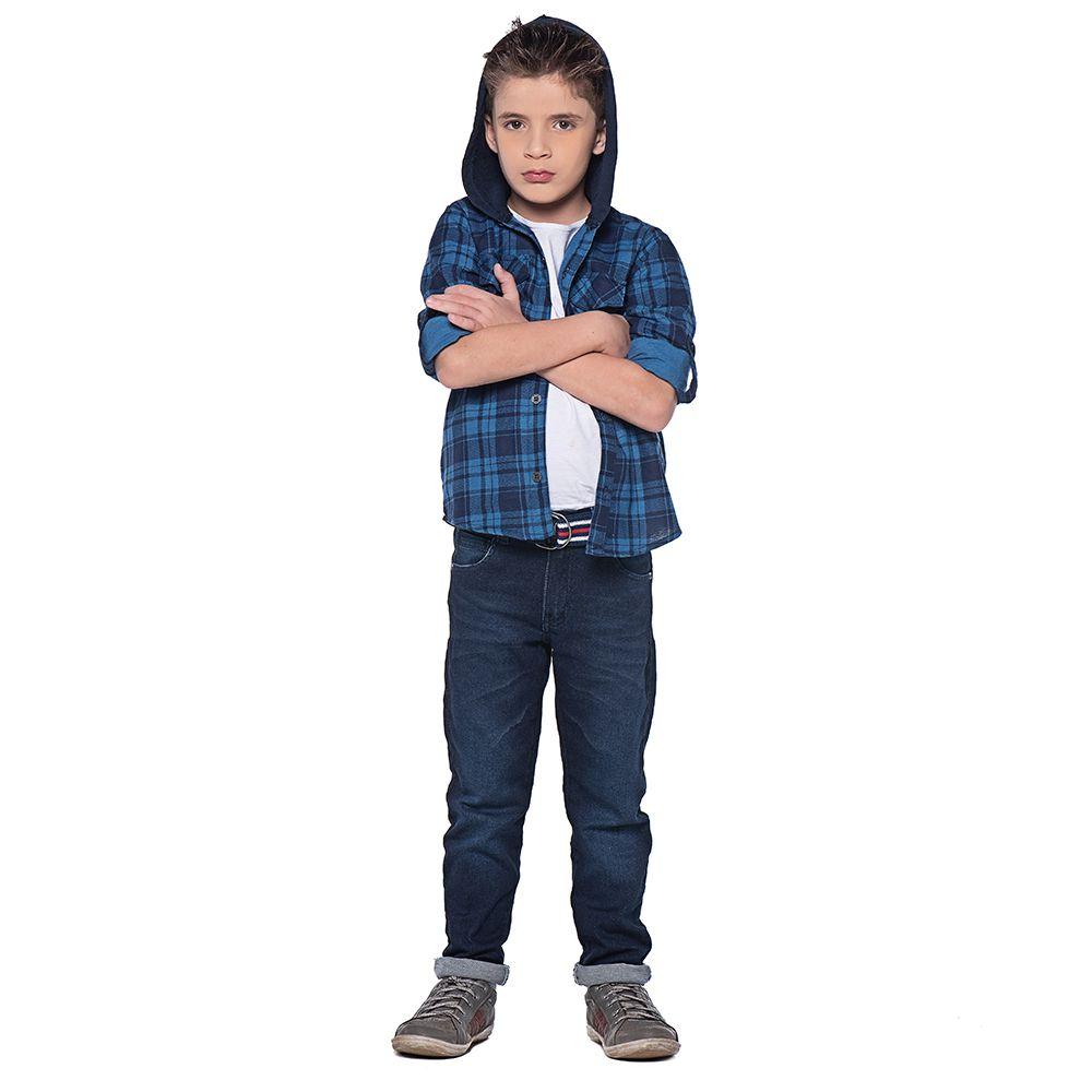 Calça Menino Mania Kids Jeans Médio 90582