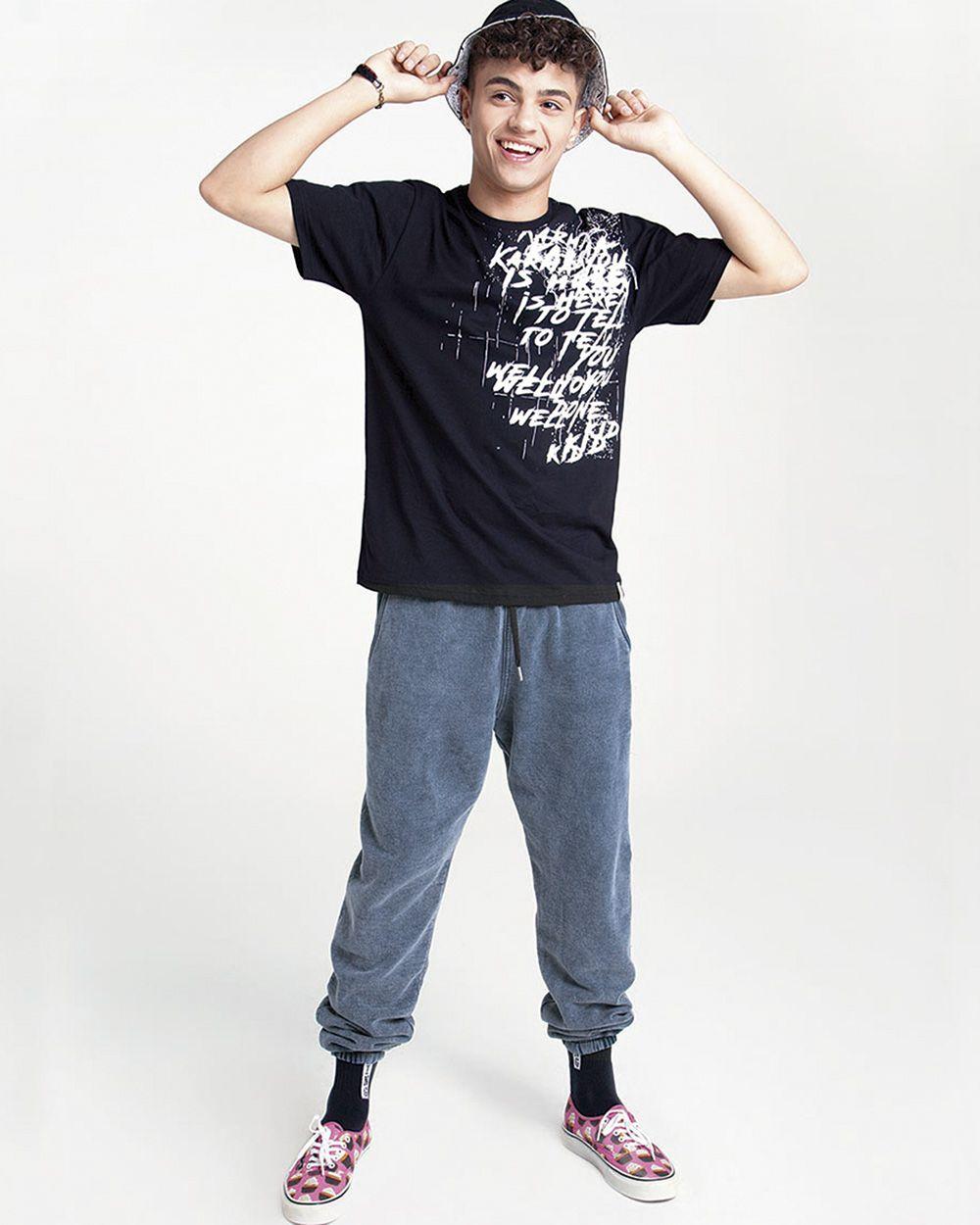 Calça Menino Nuv On Moletom Jeans Claro 60316