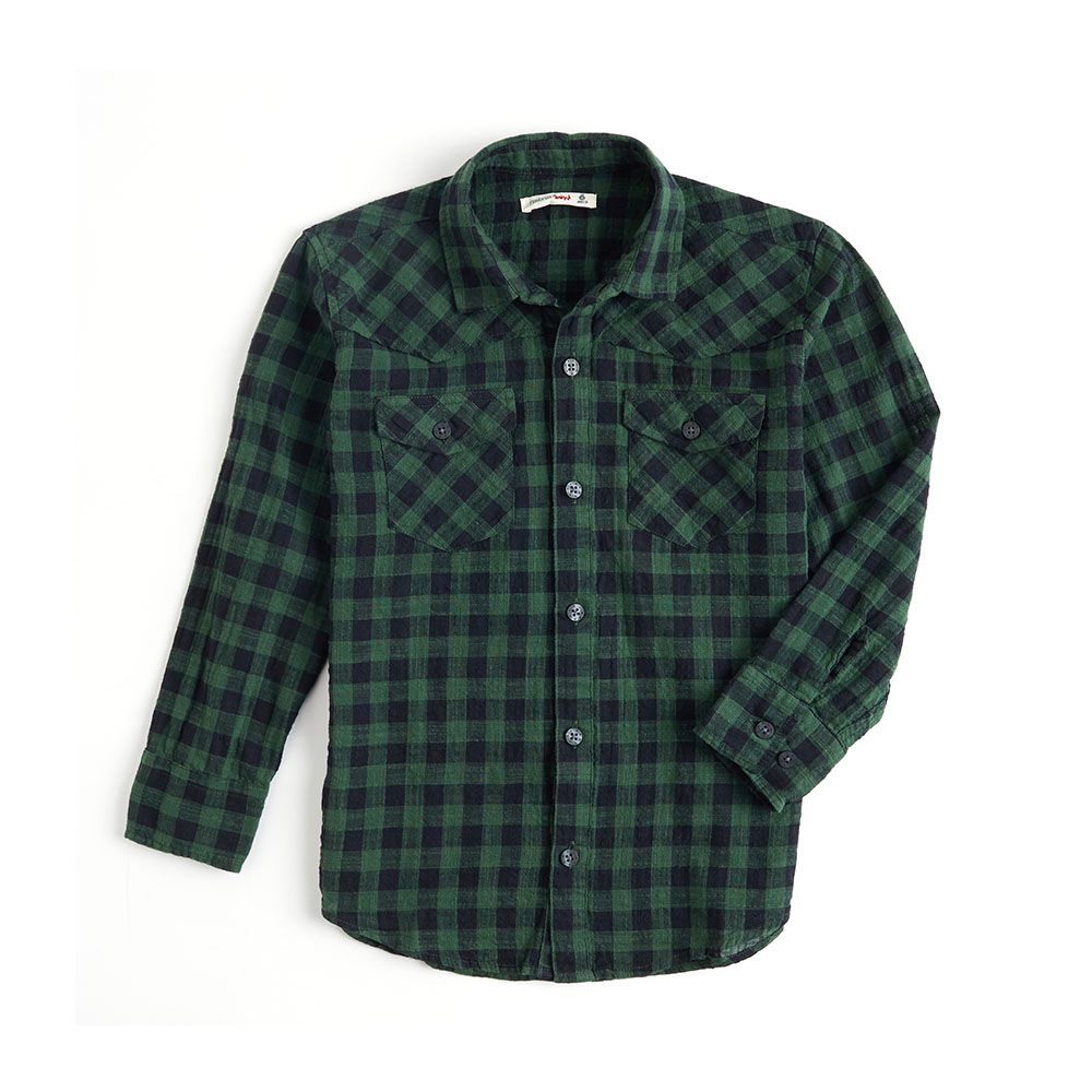 Camisa Manga Longa Menino Reserva Palas Verde Esc 36408