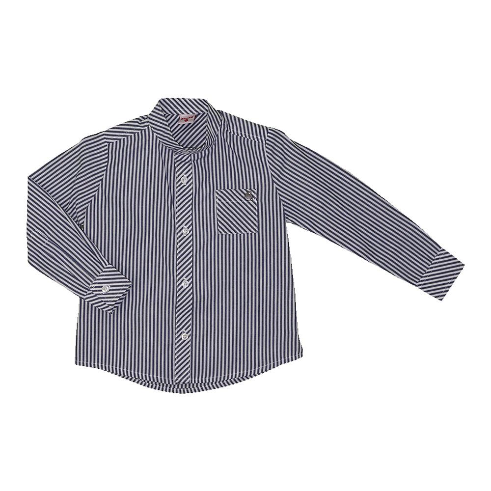 Camisa Beabá Manga Longa Listrado 808108