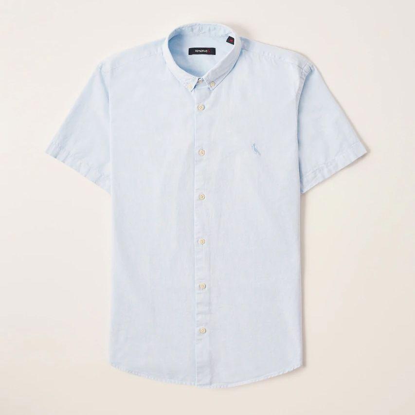 Camisa Menino Reserva Oxford Mc Azul Claro 47614