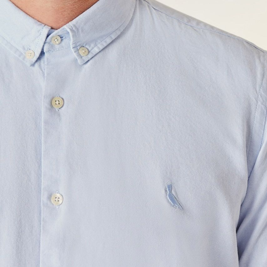 Camisa Reserva Oxford Mc Azul Claro 47614