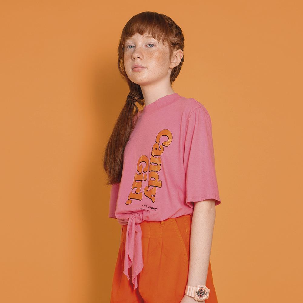 Camiseta Dimy Candy Make Rosa 82697