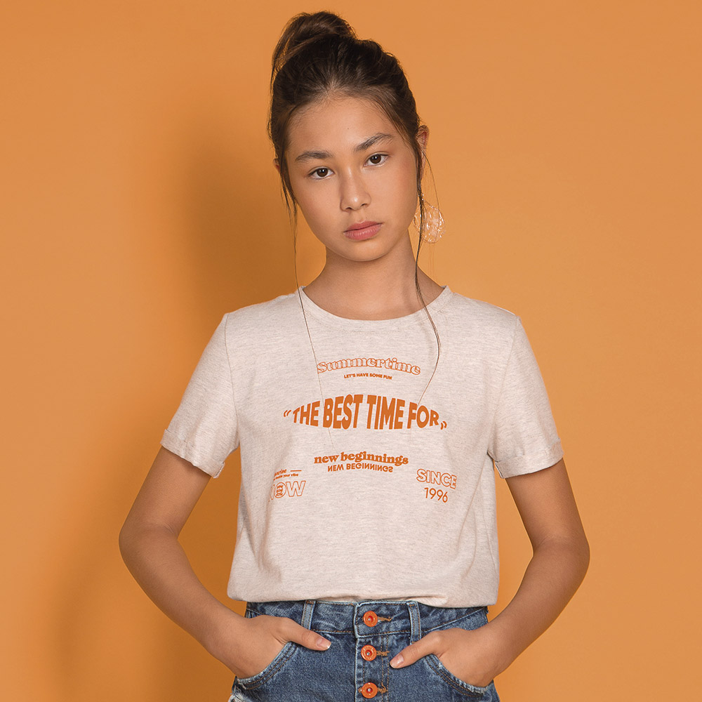 Camiseta Dimy Candy Mescla The Best Time 82679