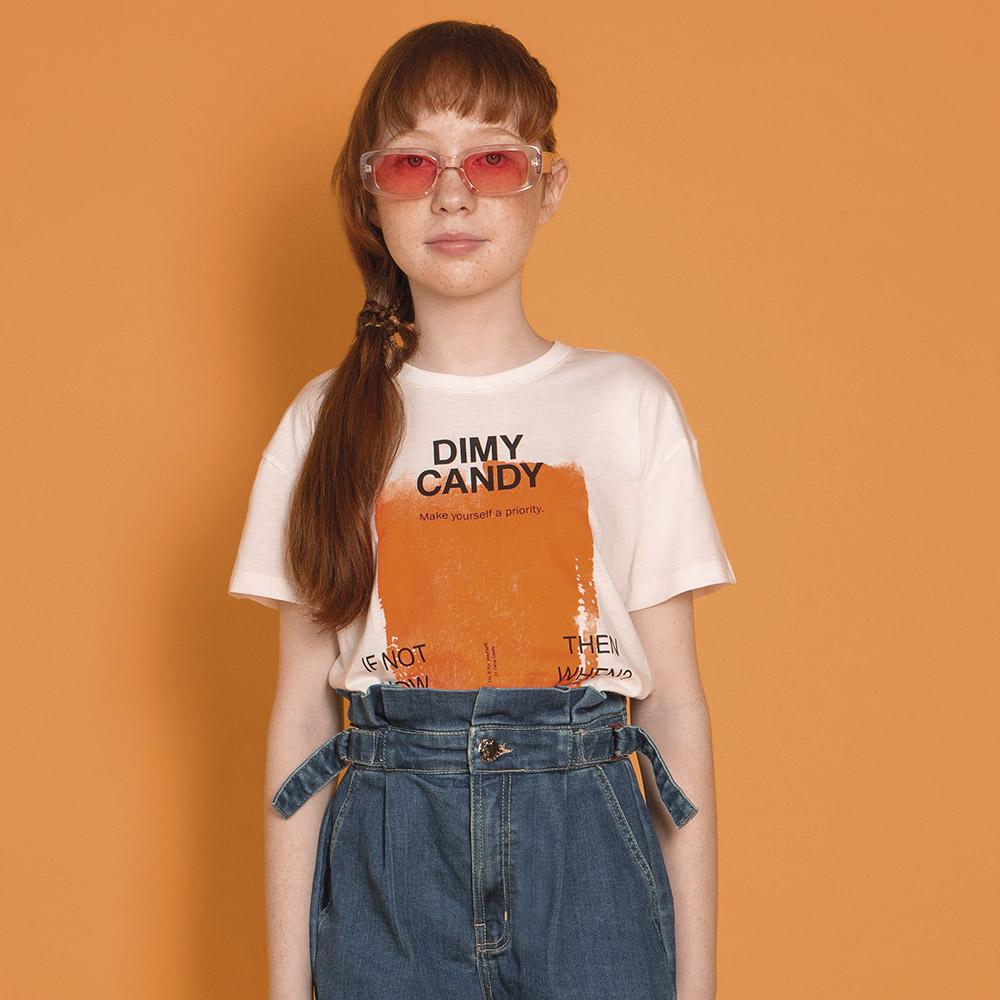 Camiseta Dimy Candy Ombro Deslocado TSH82692