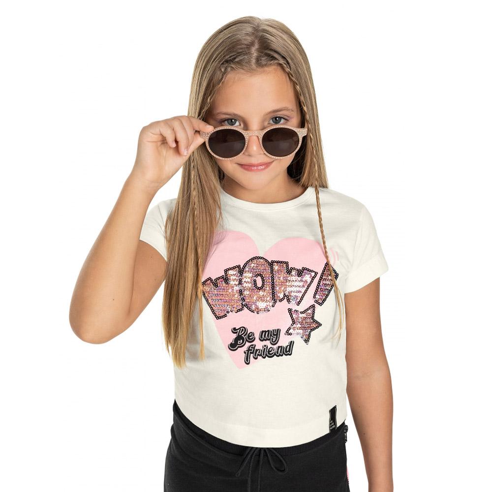 Camiseta Gloss Wow Branca 31243br