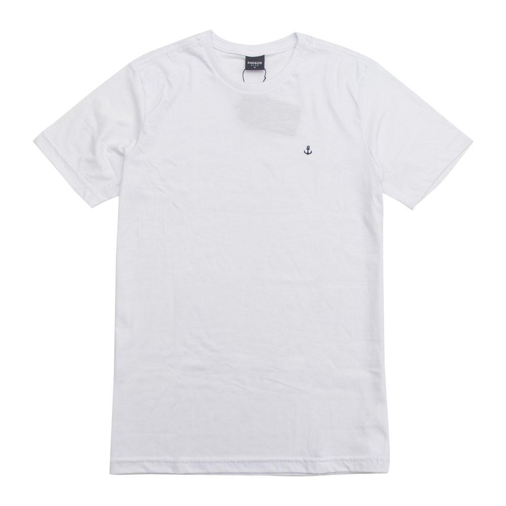Camiseta King e Joe Básica Branca Ca03001K