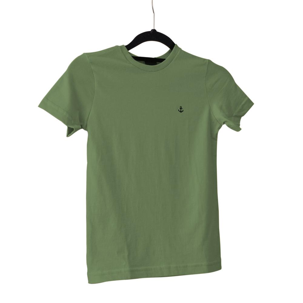 Camiseta King e Joe Básica Verde Ca03001K