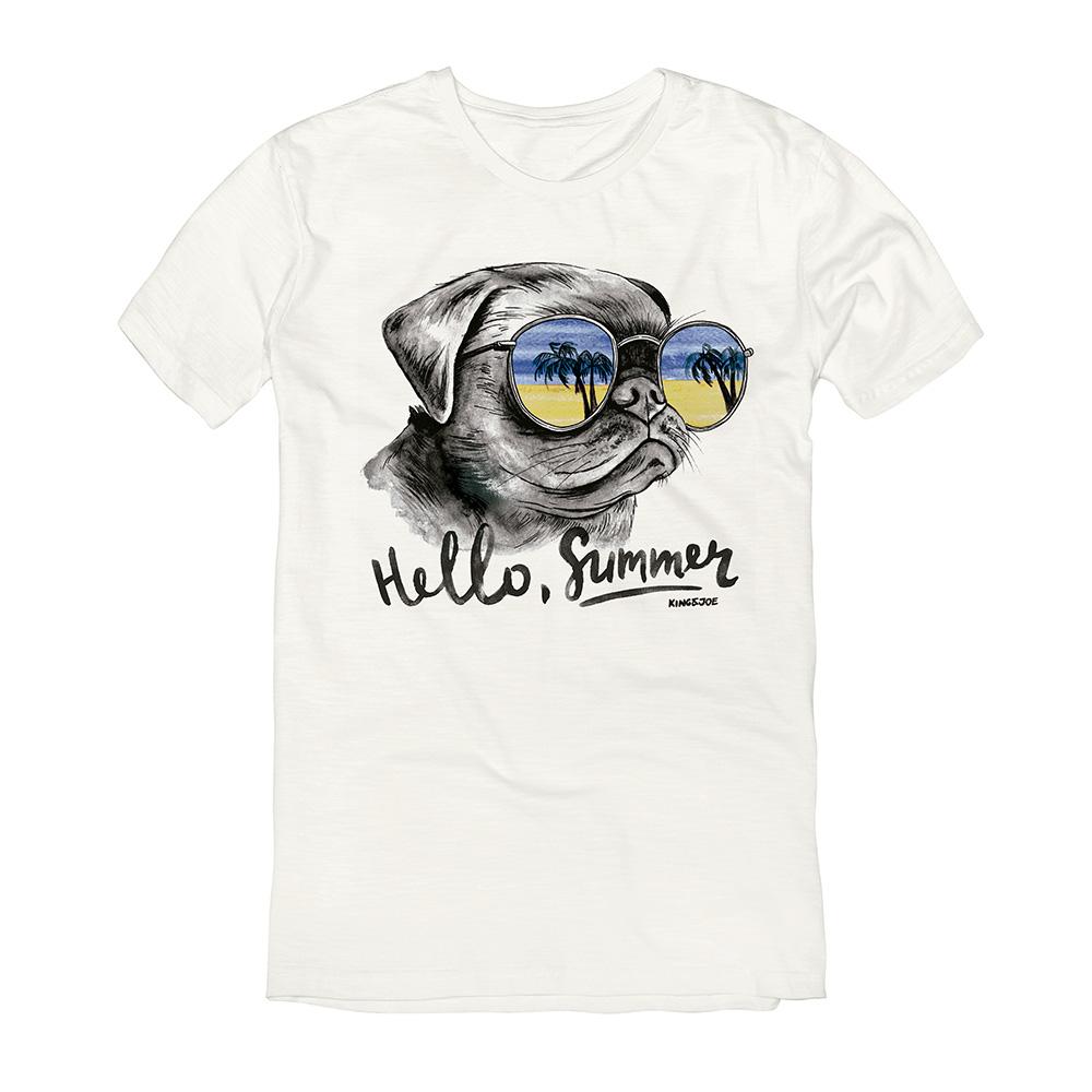 Camiseta King E Joe Bulldog Hello Ca03041K