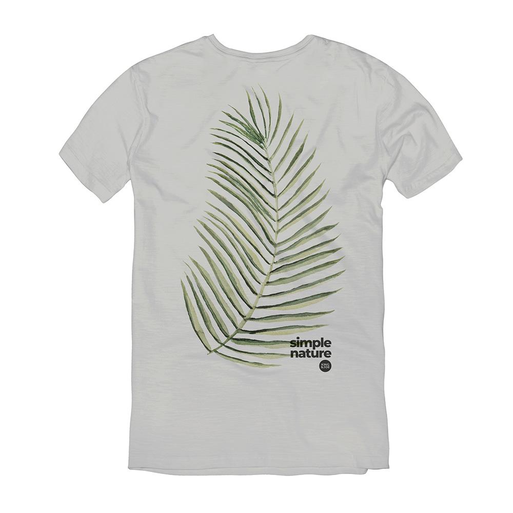 Camiseta King E Joe Cinza Palmeira Ca03048K