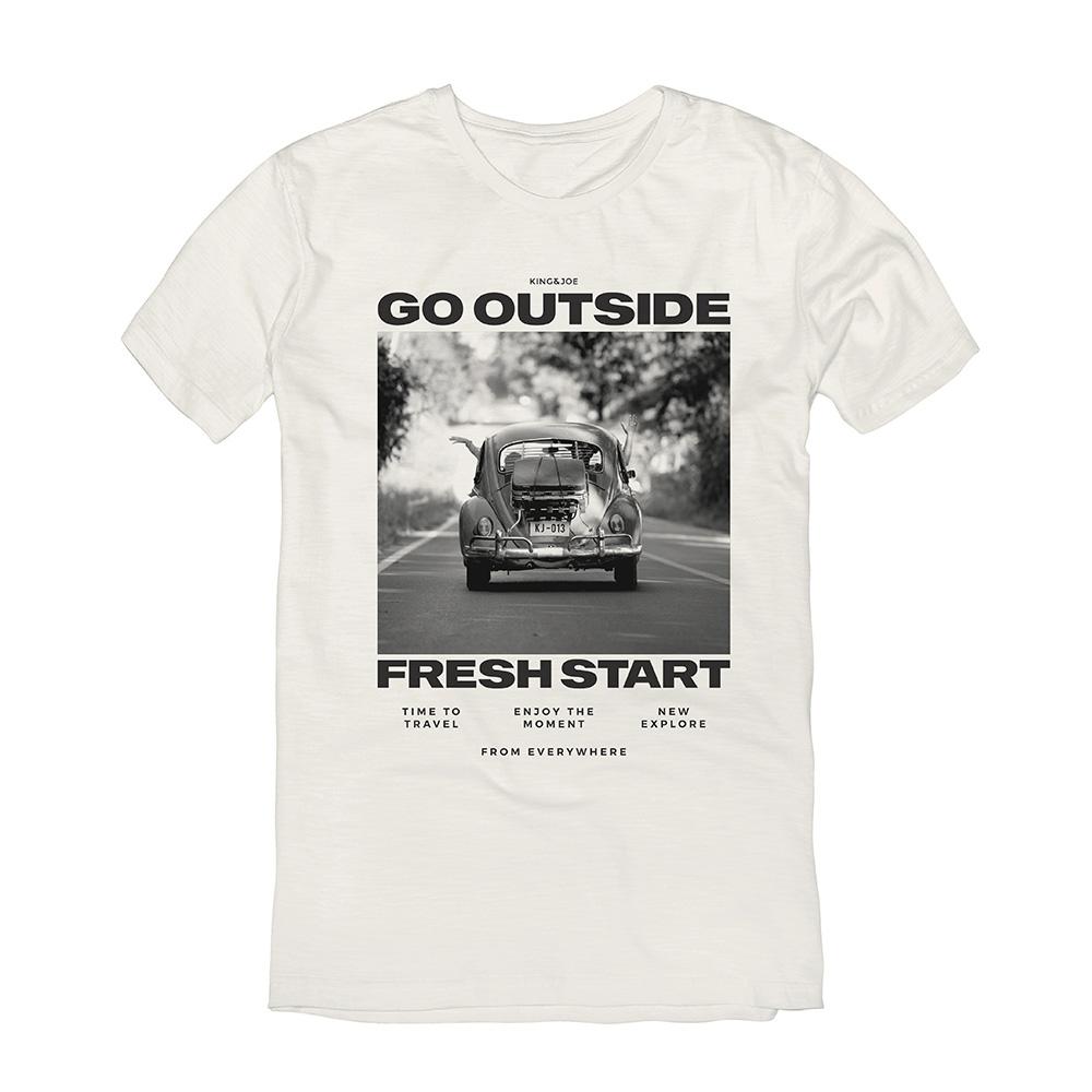 Camiseta King e Joe Go Outside Ca03016K