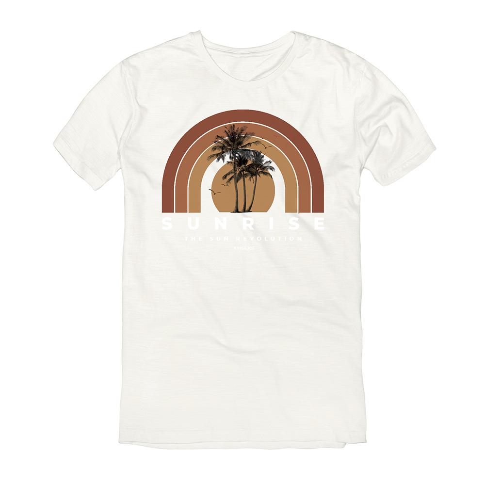 Camiseta King e Joe Sunrise Off White CA03054K