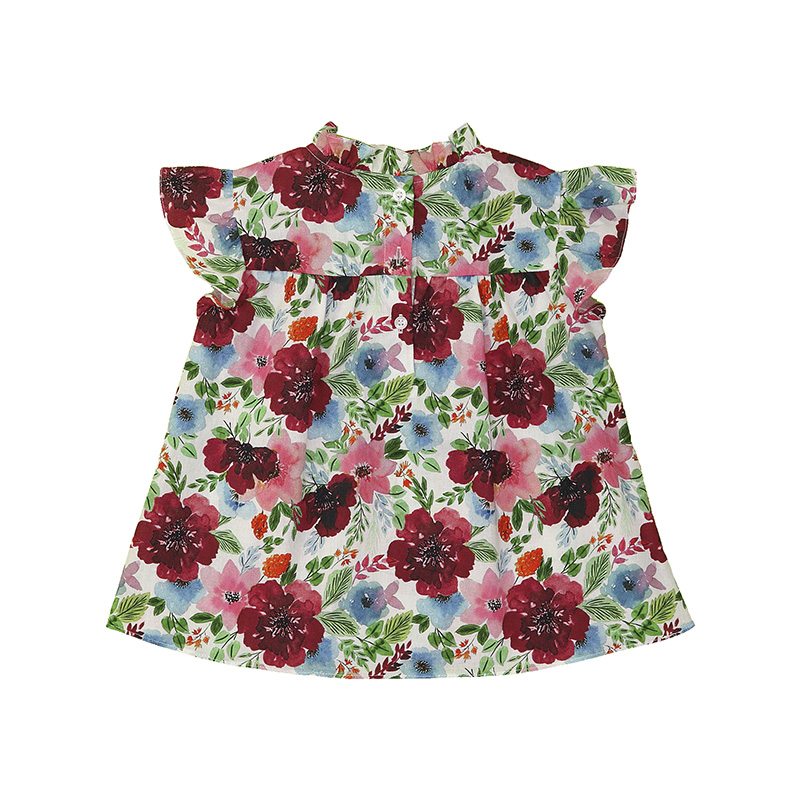 Camiseta Beabá Floral Escuro 808039N