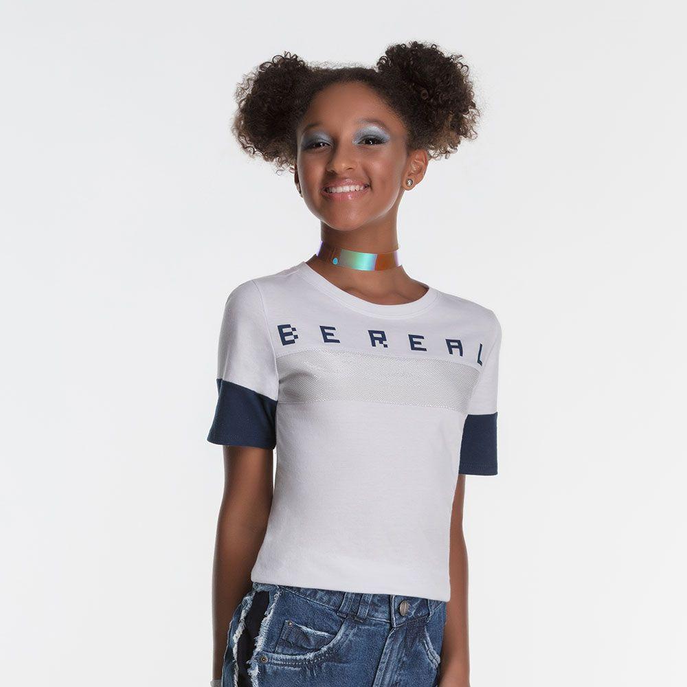 Camiseta Menina Bobbylulu Bereal 20S135