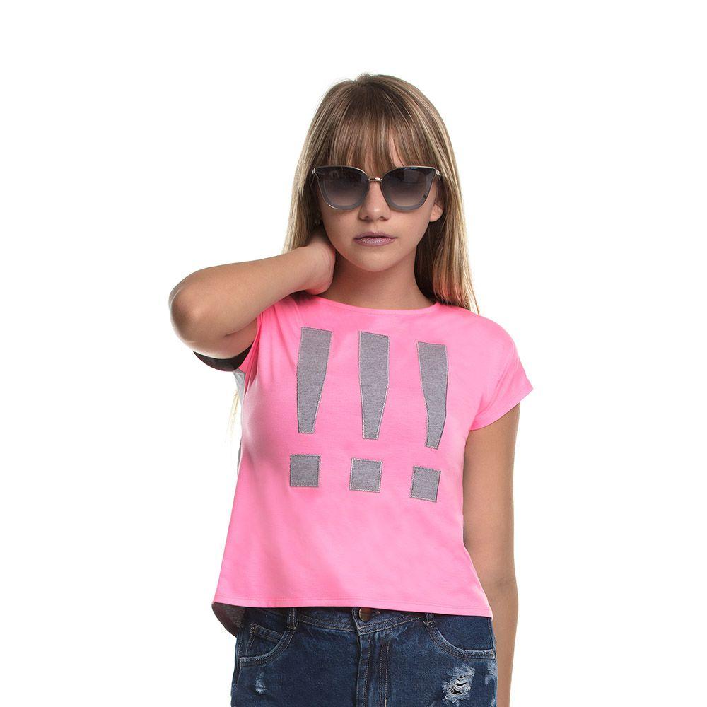 Camiseta Menina Bobbylulu Kind Neon 20S176