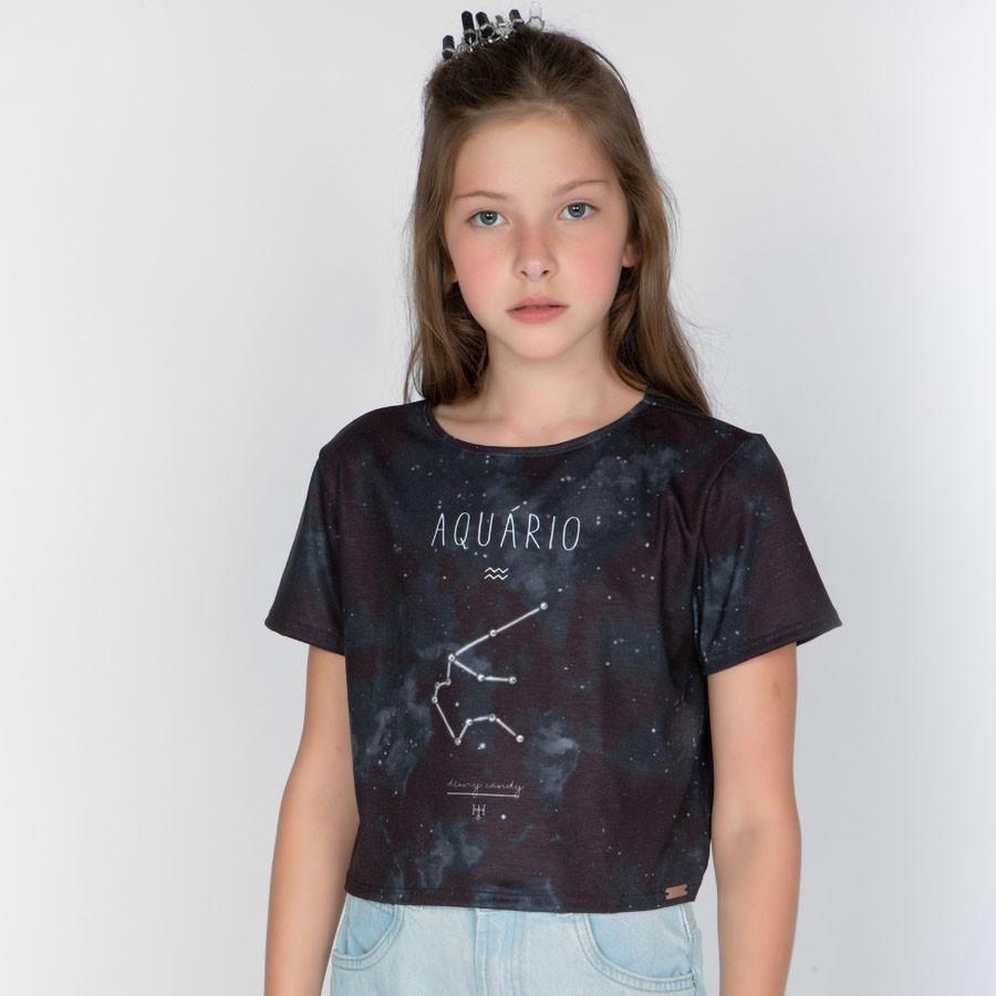 Camiseta Menina Dimy Candy Aquário 82050