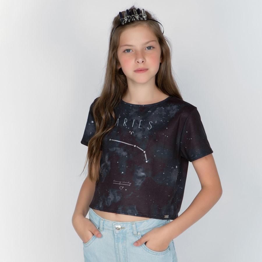 Camiseta Menina Dimy Candy Áries 82050