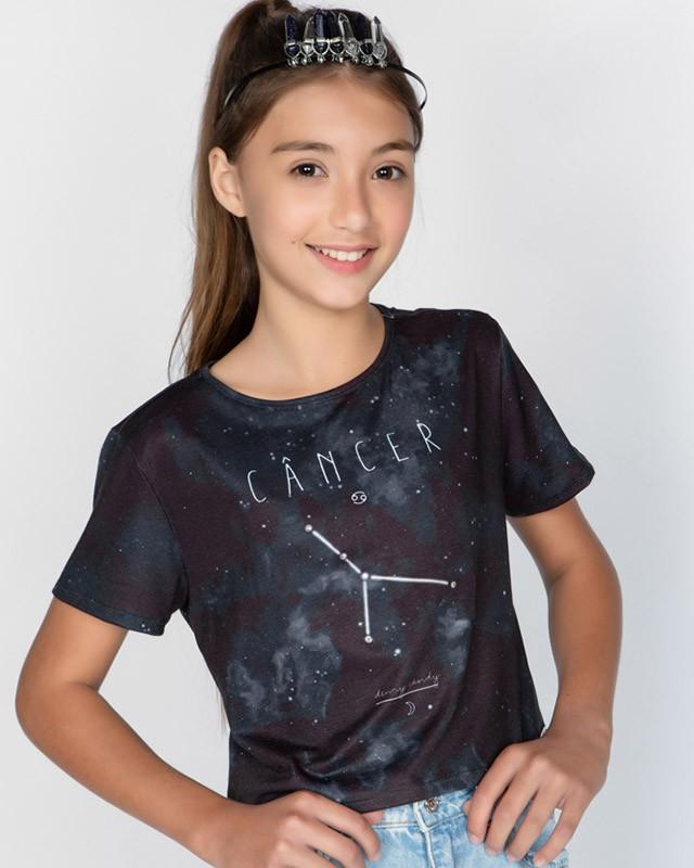 Camiseta Menina Dimy Candy Cancer 82050