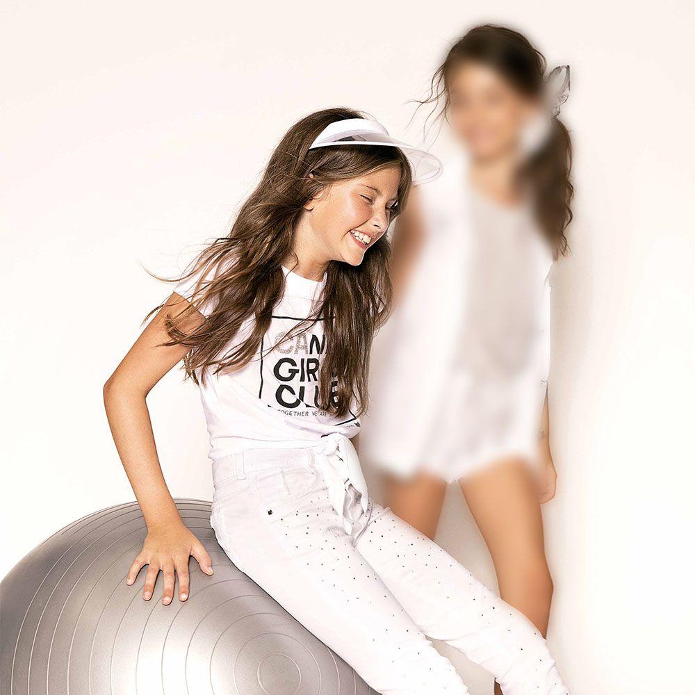 Camiseta Menina Dimy Candy Candy Girls Branco 81461