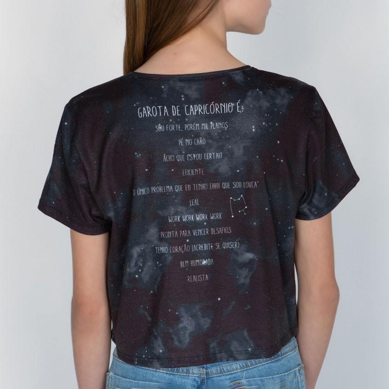 Camiseta Menina Dimy Candy Capricórnio 82050