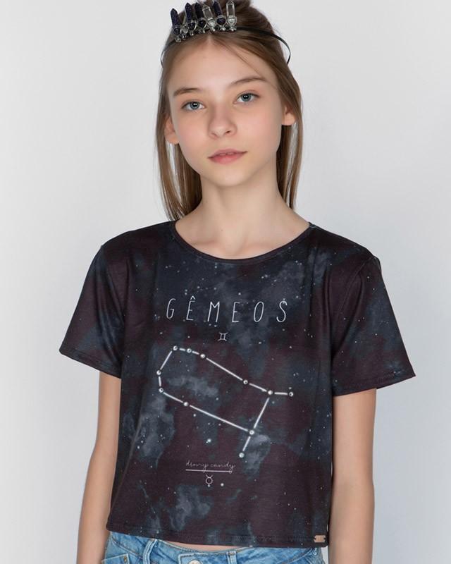 Camiseta Menina Dimy Candy Gêmeos 82050