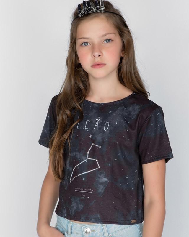 Camiseta Menina Dimy Candy Leão 82050