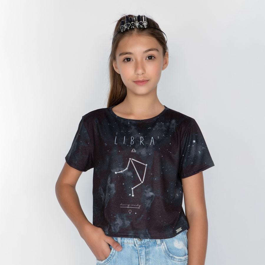 Camiseta Menina Dimy Candy Libra 82050