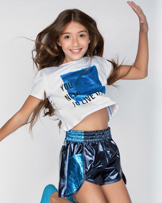Camiseta Dimy Candy Metalizada You Need 82032