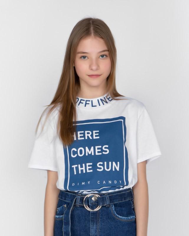 Camiseta Menina Dimy Candy Offline 82035