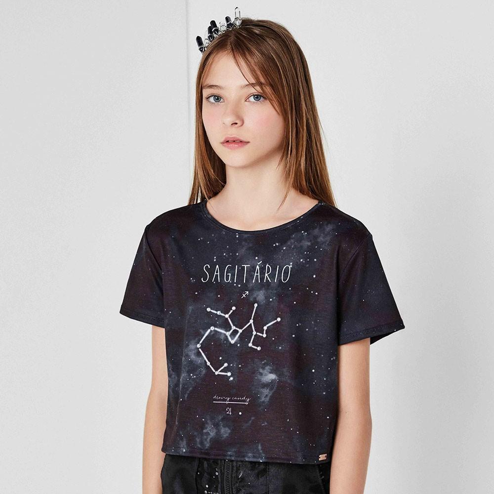 Camiseta Menina Dimy Candy Sagitário 82050