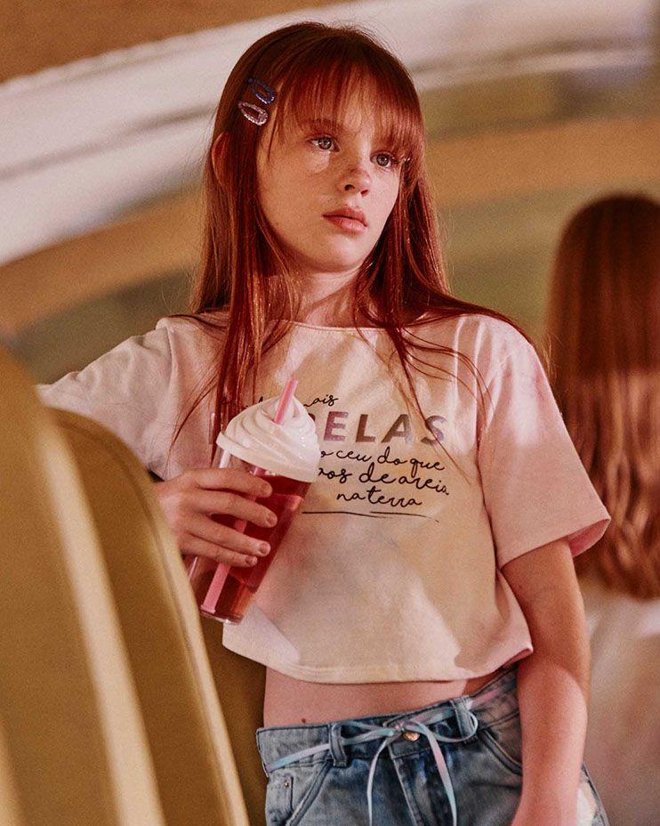 Camiseta Menina Dimy Candy Tie Dye 81828