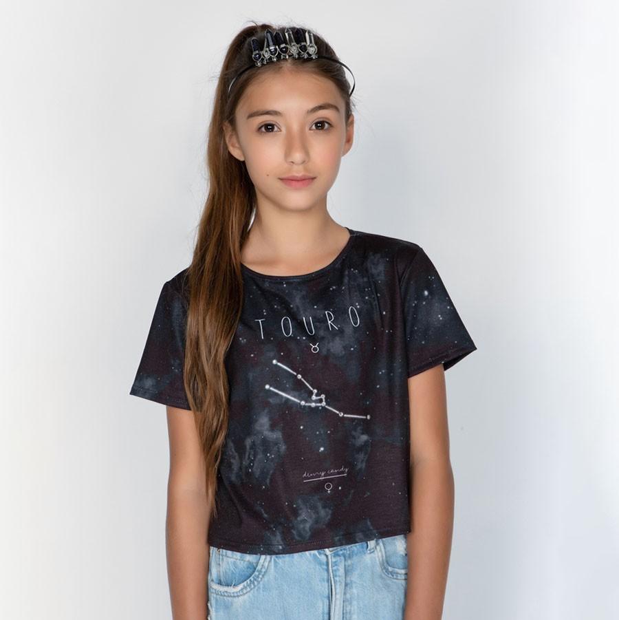 Camiseta Menina Dimy Candy Touro 82050