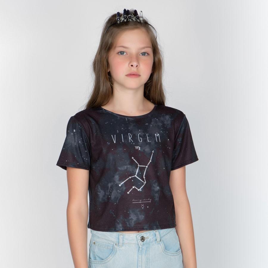 Camiseta Menina Dimy Candy Virgem 82050