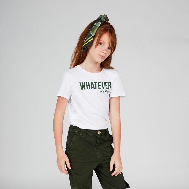 Camiseta Menina Dimy Candy Whatever 81692