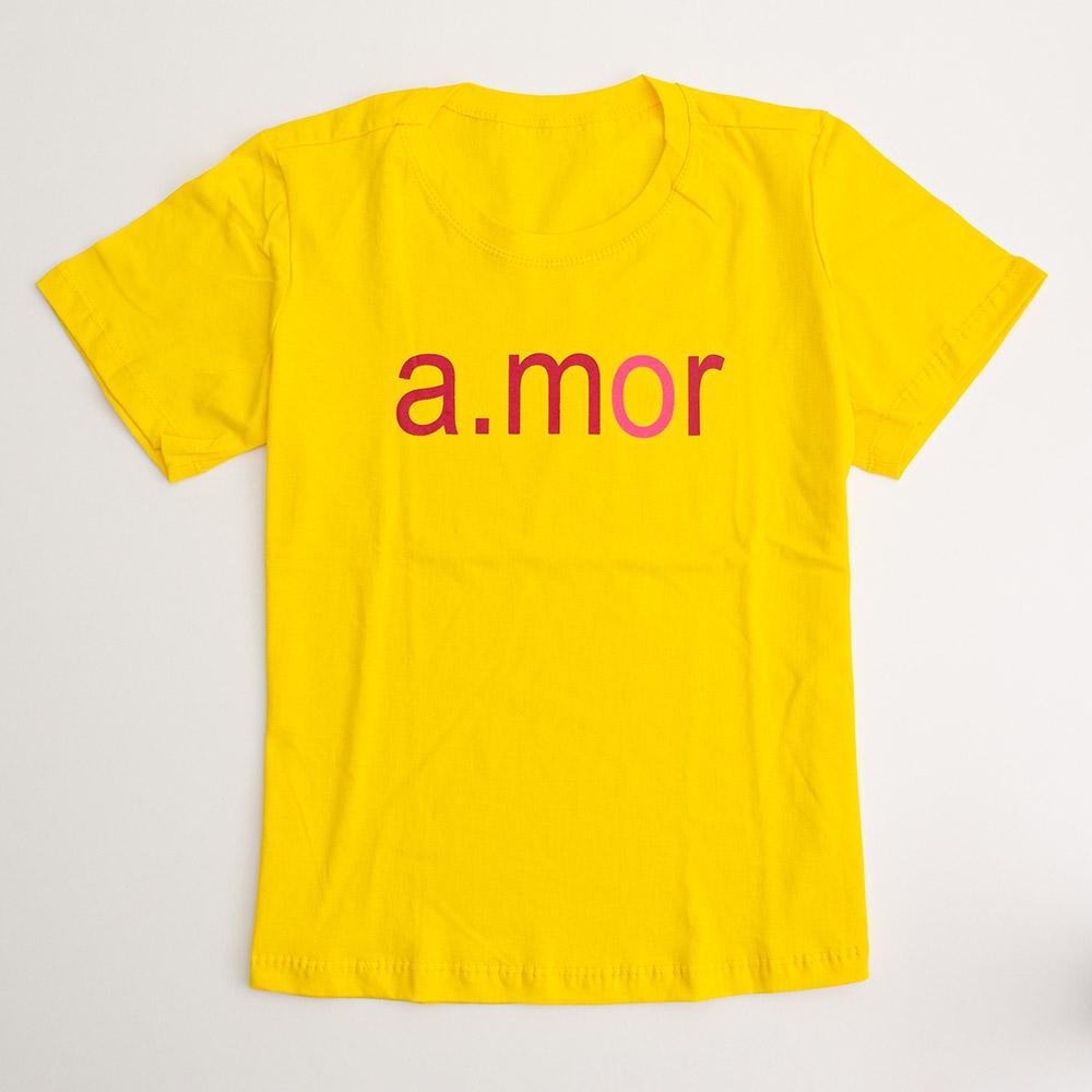 Camiseta Menina É Cada Uma A.Mor