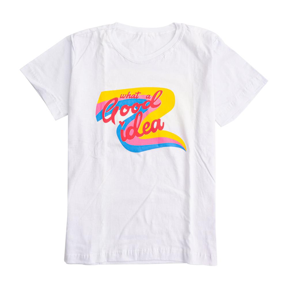 Camiseta Menina É Cada Uma Good Idea