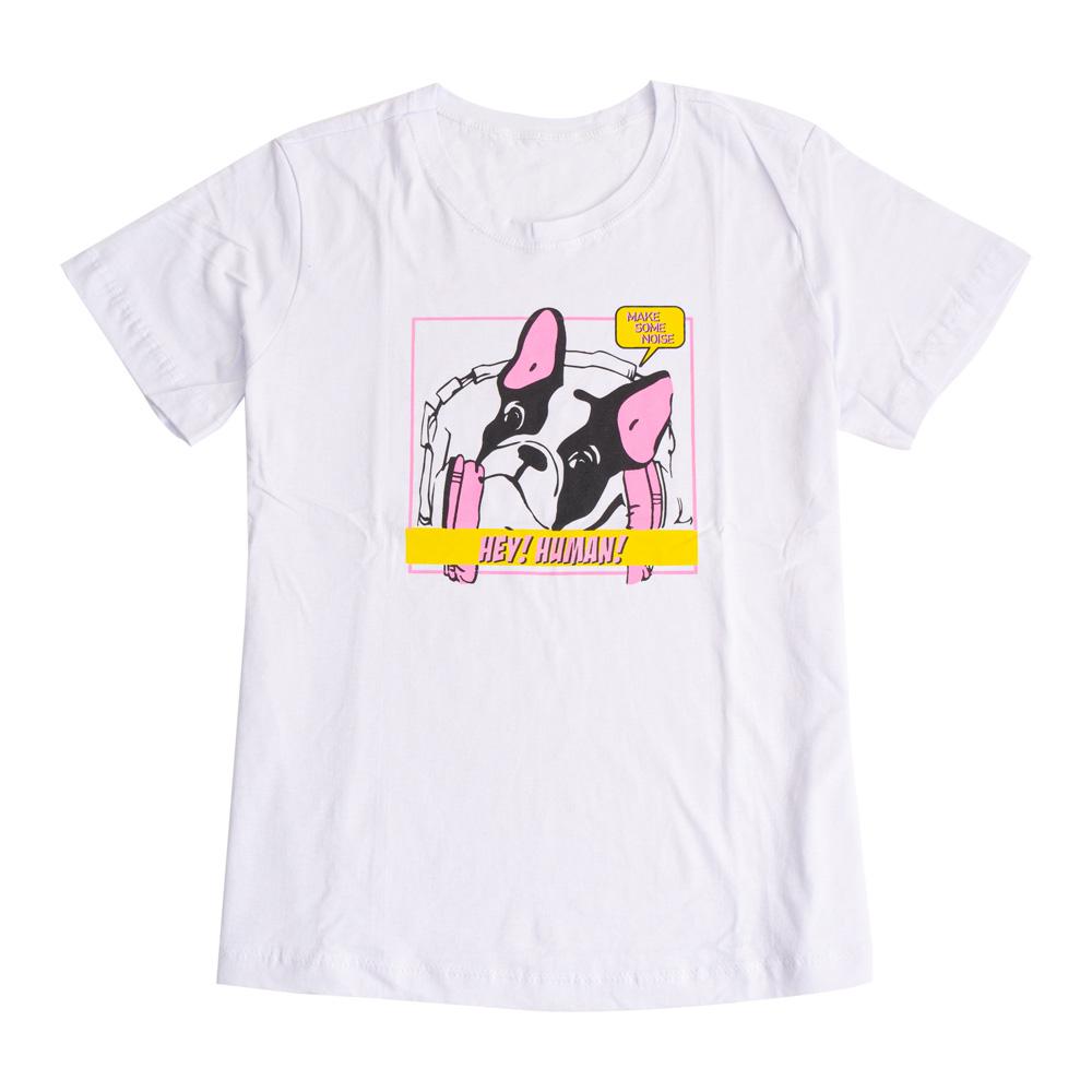Camiseta Menina É Cada Uma Hey Human
