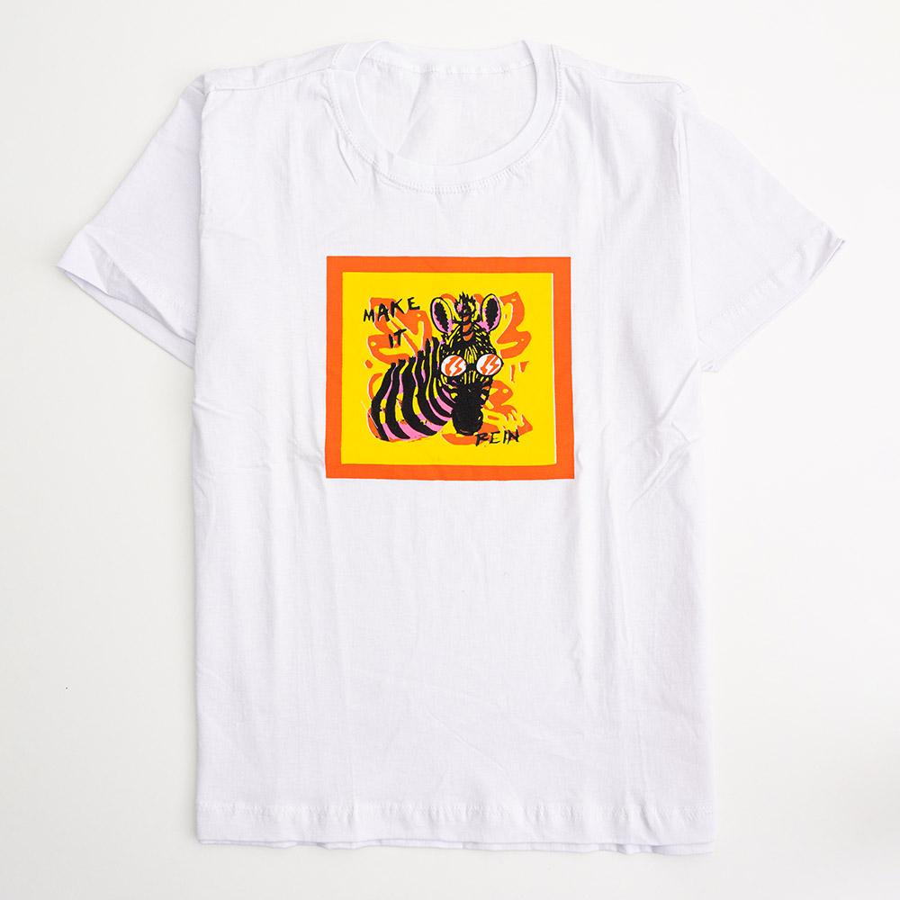 Camiseta Menina É Cada Uma Make It Rein