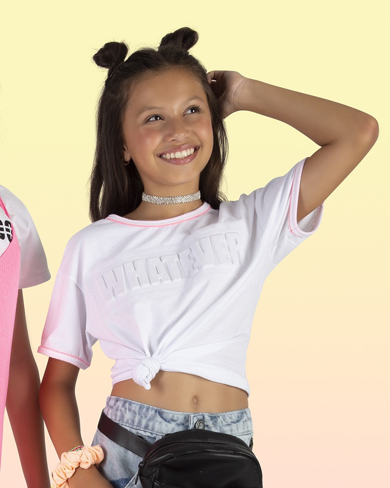 Camiseta Menina Fruto Whatever 42660321