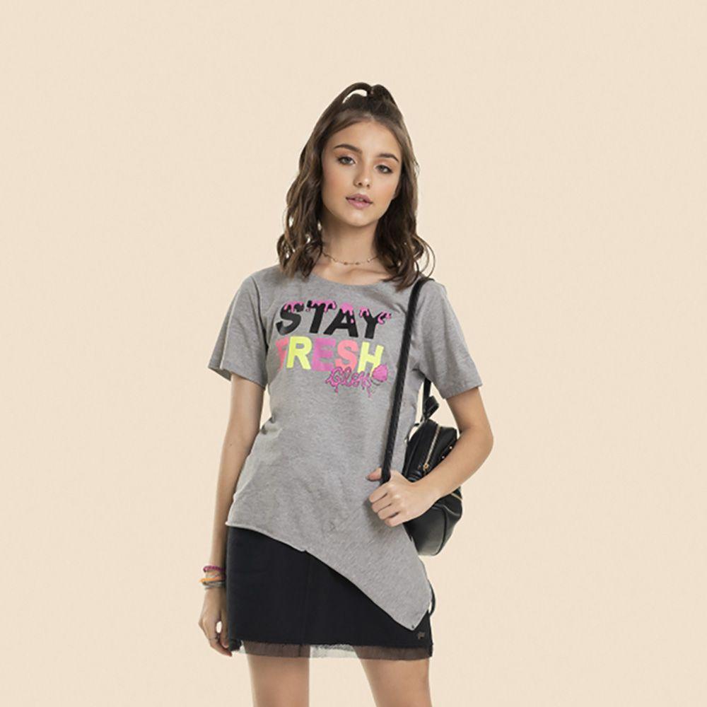 Camiseta Menina Gloss Stay Fresh 31000