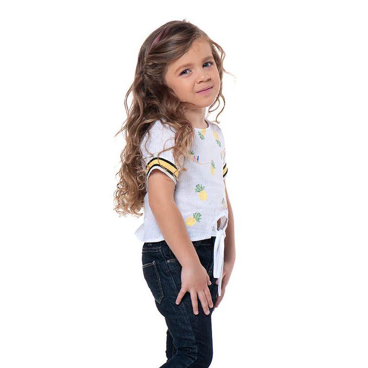Camiseta Menina Mania Kids Abacaxi 50602