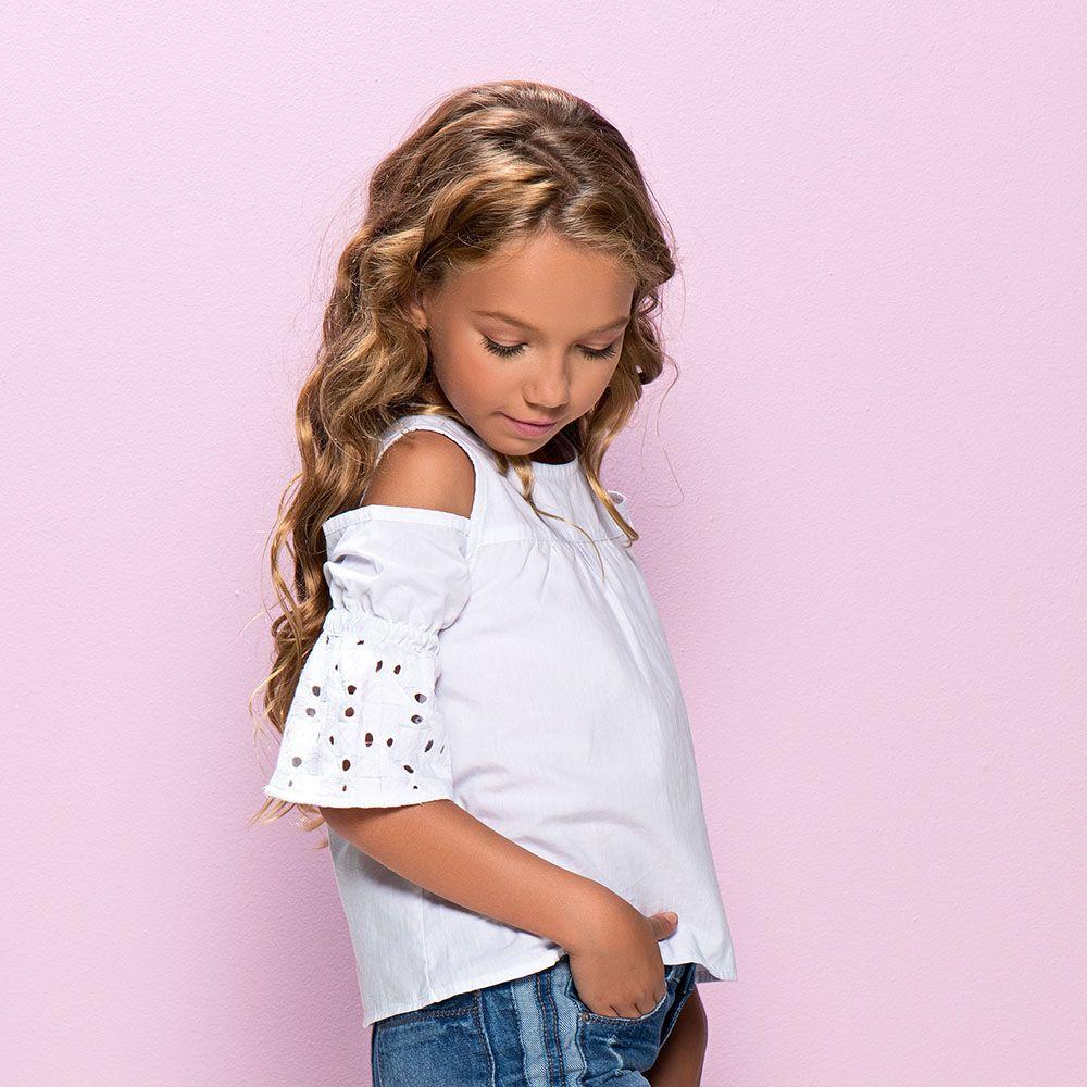 Camiseta Menina Mania Kids Bata com Caça 60837