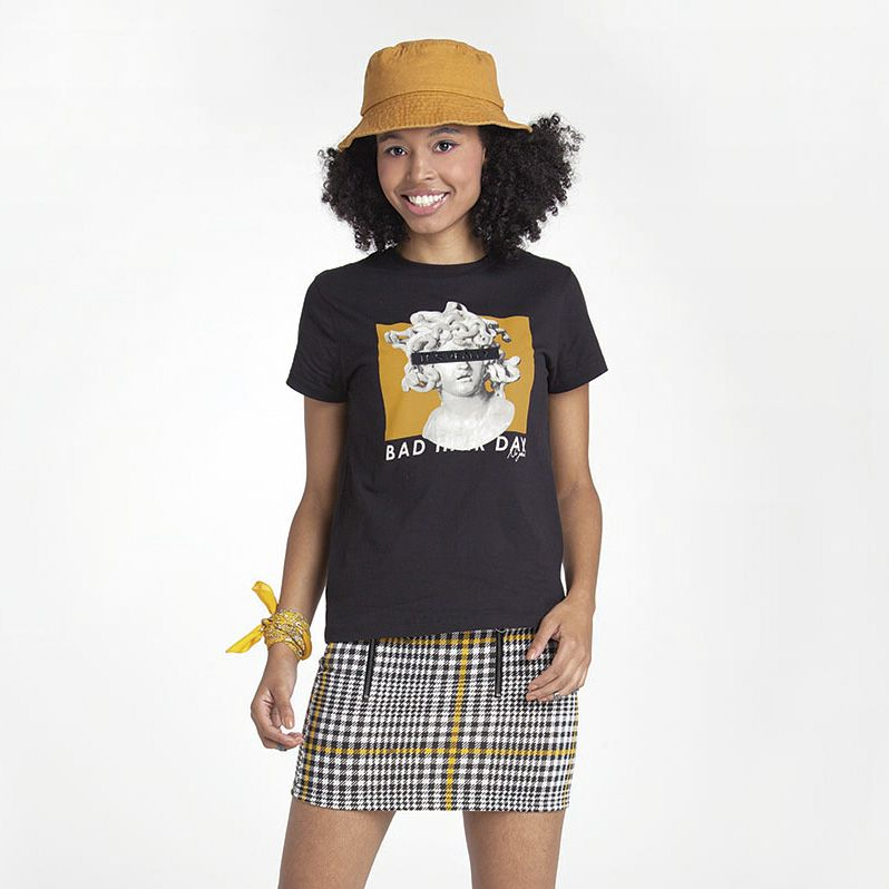 Camiseta Menina Nuv On Bad Hair Day 60265