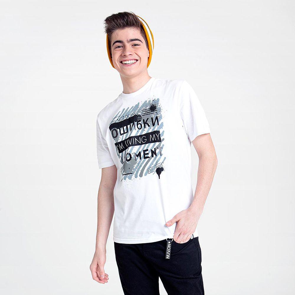 Camiseta Nuv On Im Living My Moment 60340