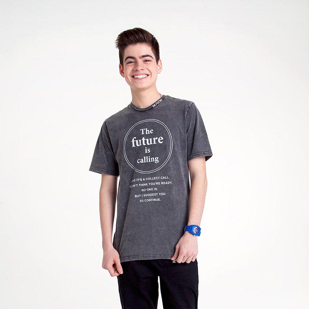 Camiseta Menino Nuv On The Future Is Calling 60348