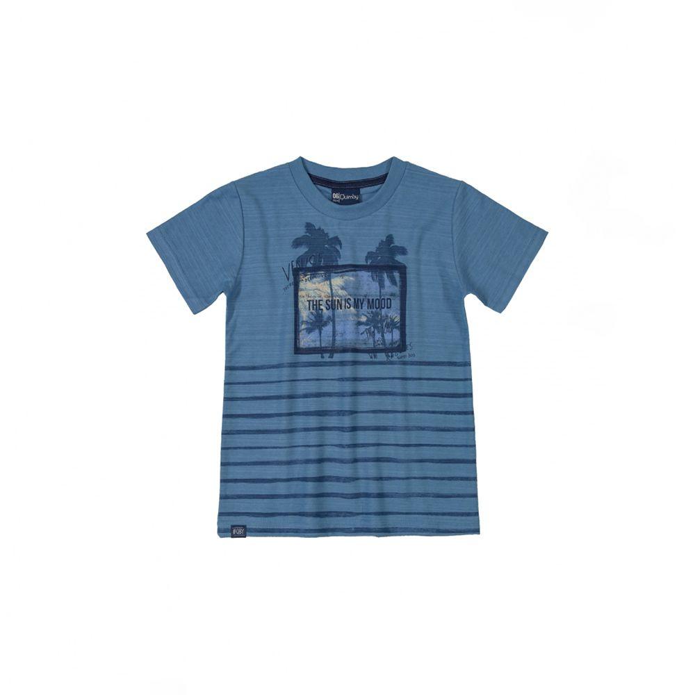Camiseta Menino Quimby Azul The Sun Is My 28167