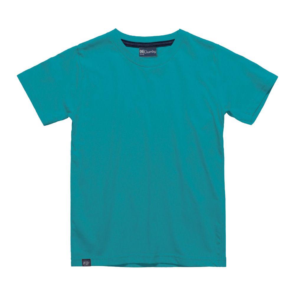 Camiseta Menino Quimby Azul Turquesa 27994